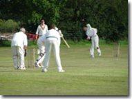 Goathland cricket team fielding