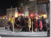 Kids queuing for Santa - filmed 17 November 2005