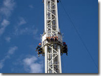 Flamingoland Cliff Hanger