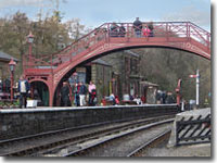 Goathland station bridge