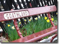 Goathland station bench