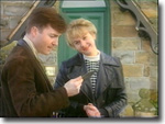 Nick Rowan (Nick Berry) and Kate Rowan (Niamh Cusack) in Heartbeat