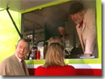 Claude Greengrass' fish 'n chip van (2000)
