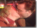 Kate Rowan and Nick Rowan at the fair in Heartbeat