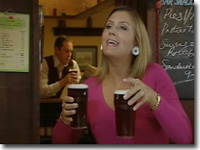 Gina in Aidensfield Arms