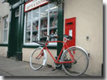 Goathland village bike