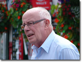Richard Wilson (Victor Meldrew) in Aidensfield