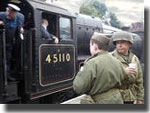 Wartime weekend in Goathland