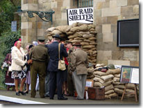 Wartime weekend, Pickering, North Yorkshire Moors Railway