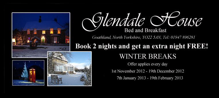 Glendale House winter breaks voucher