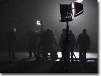 Heartbeat night shooting - filmed  1 Feb 2006