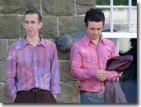 PC Jeff Younger and PC Joe Mason