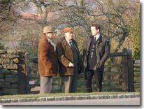 Oscar Blaketon, Alf Ventress, PC Rob Walker