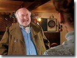 Claude Greengrass (Bill Maynard) at the Aidensfield Arms