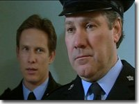 PC Rob Walker (Jonathan Kerrigan) and Sgt. George Miller (John Duttine)