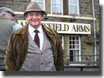 Derek Fowlds at the Aidensfield Arms, (2005)