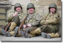 US Soldiers, Wartime weekend, Pickering, North Yorkshire Moors Railway