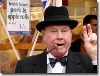 Winston Churchill, Wartime weekend, Pickering, North Yorkshire Moors Railway
