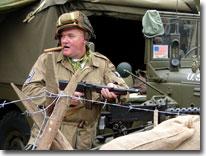 US Army,Wartime weekend, Pickering, North Yorkshire Moors Railway