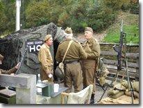 Wartime weekend, Goathland, North Yorkshire Moors Railway