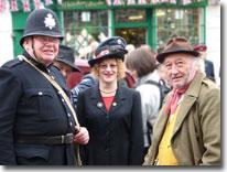 Claude Greengrass, Wartime weekend, Pickering, North Yorkshire Moors Railway