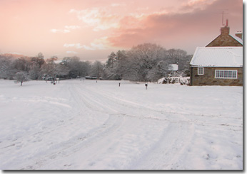 Goathland in the snow