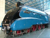 The Mallard: York National Railway Museum