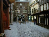 Street in York Castle Museum