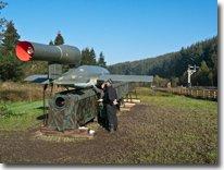 V1 rocket at Levisham